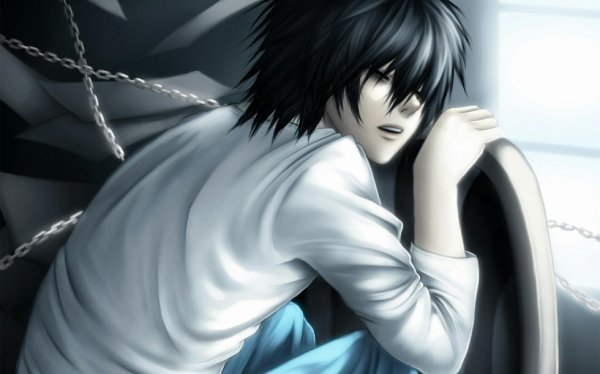 fan art L de death note