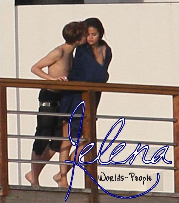 Justin Bieber & Selena Gomez en Floride ♥