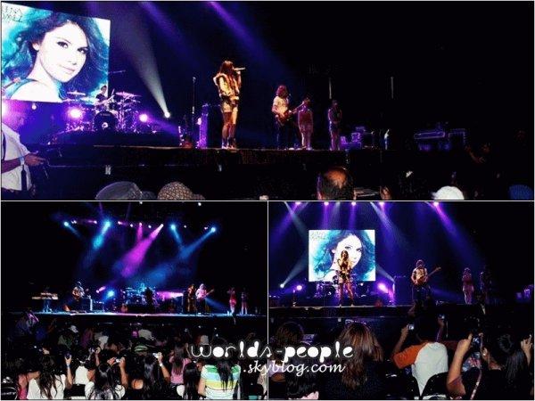 .  02 Février > Selena en concert au Chili ♥ -