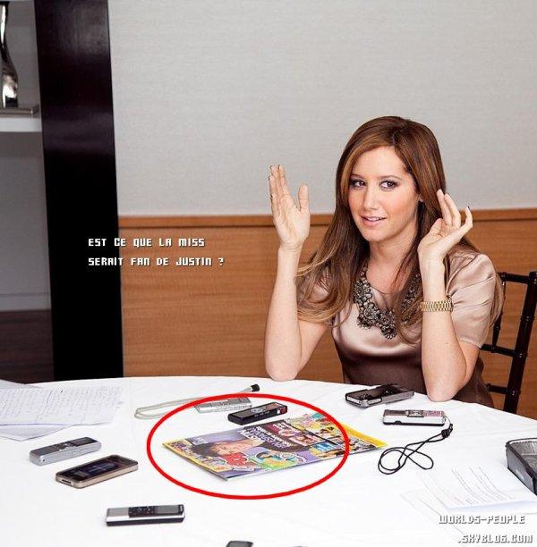 1 Avril > Pour la promo de Sharpay's Fabulous Adventure, Ashley a donné une interview. Elle est magnifique ♥
