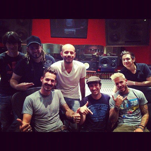 24/07 M Pokora en Studio