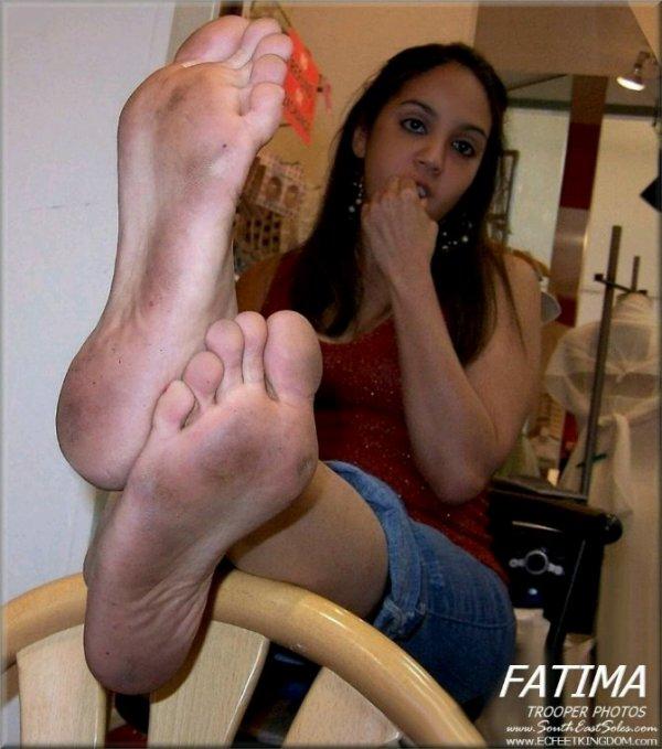 Les pieds de Fatima