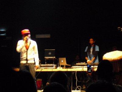 Concert TIGUS et DJ DAN le 12/02/2011 à Sausheim