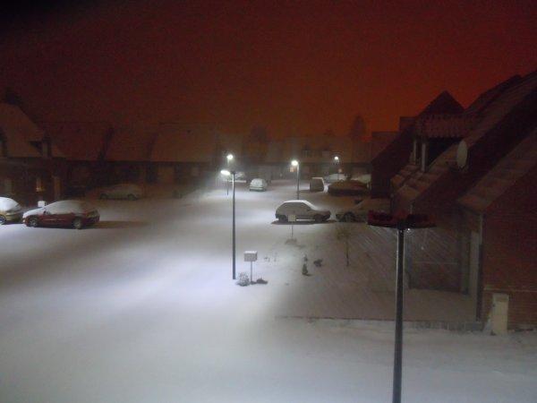 ...Wahoo... La neige c'était géniale...