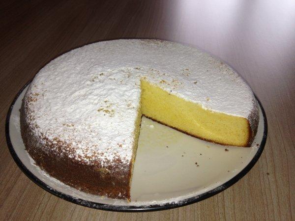 Gâteau vanillé au lait concentré