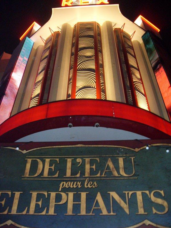 """AVANT-PREMIERE """"DE L'EAU POUR LES ELEPHANTS"""" 28 AVRiL 2011 à PARIS"""