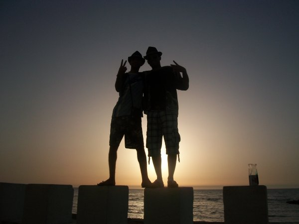 me and my best friend brahim