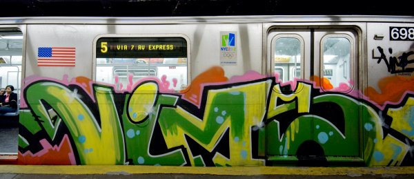 graffit SUR TRAIN