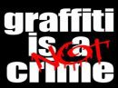 graffiti is NOT crime