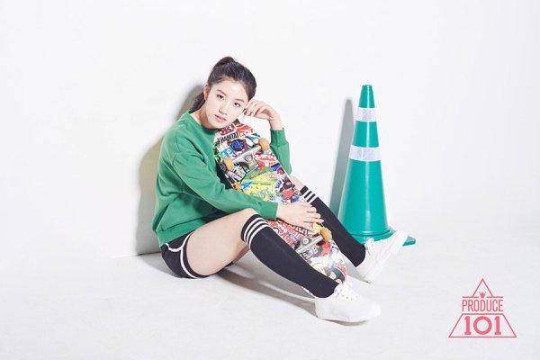 Photoshoot PRODUCE 101 #7(Siyeon)