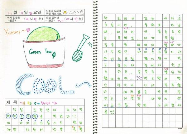 Kyulkyung's Diary (2016.11.22)