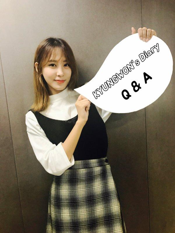 [Q&A] Kyungwon (2016.11.15)