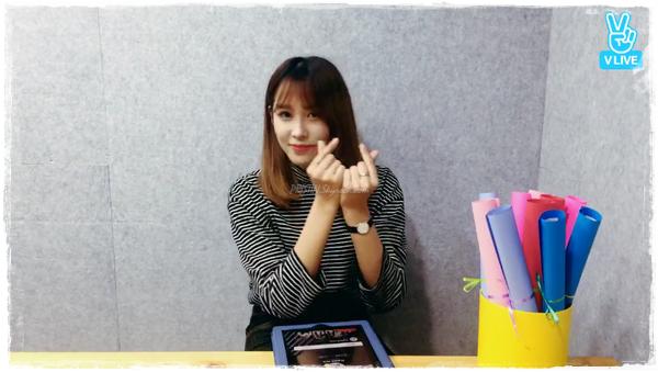 [PLEDIS Girlz] Le Temps du Jus de Pomme de PLEDIS Girlz, le Journal de Kyungwon(VLive #4)