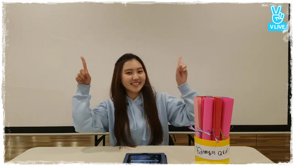 [PLEDIS Girlz] Le Temps du Jus de Pomme de PLEDIS Girlz, le Journal de Sungyeon(VLive #7)