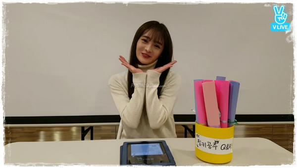[PLEDIS Girlz] Le Temps du Jus de Pomme de PLEDIS Girlz, le Journal de Kyulkyung(VLive #11)