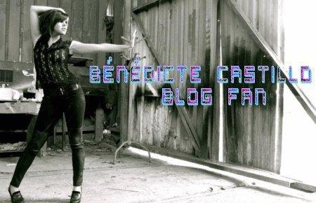 bienvenue sur le blog officiel de Bénédicte Castillo