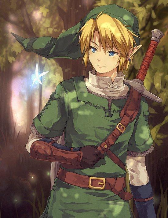 troisime dessin link et zelda - Link Et Zelda
