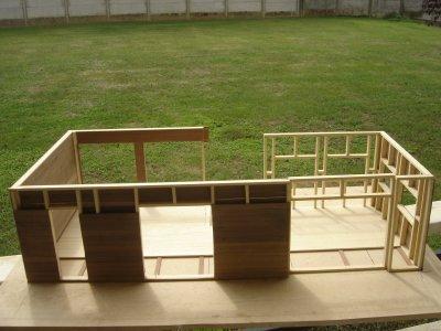 maquette maison en bois blog de marcose du49. Black Bedroom Furniture Sets. Home Design Ideas