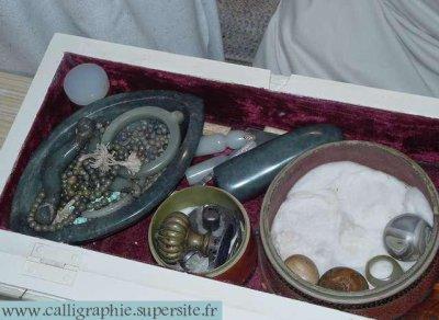 trousse de sions perle de priere objets personnel du prophet ''saws''