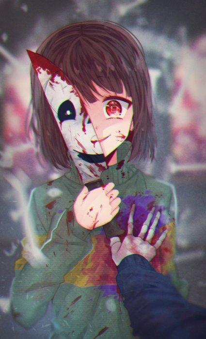 La demeure de La psychopathe aux Ciseaux (surnommé Teiko-chan) ~