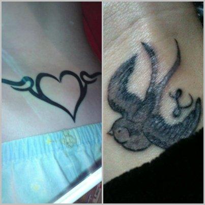Laauri-a . Skyblog . Com ! Mes Tattoo's <3