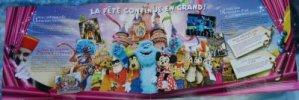Zeeman, Disney Store, Courrier
