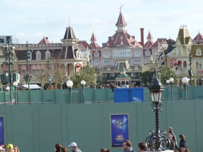 Disneyland 14 janvier 2012 - Central Plaza