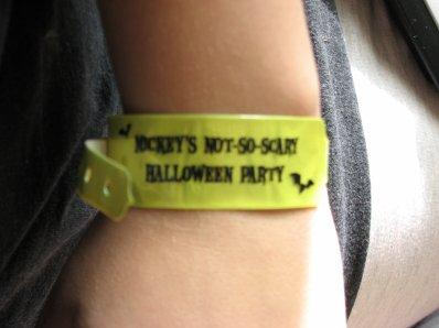 Disneyland 15 octobre 2010 - le bracelet