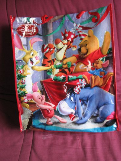 Disney Store - grand sac réutilisable noel