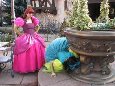 Disneyland 31 octobre 2010 - Anastasie et Javotte