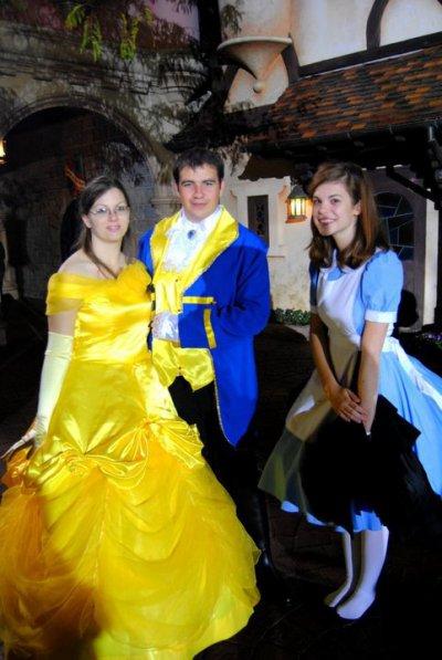 Disneyland 31 octobre 2010 - avec Flynn