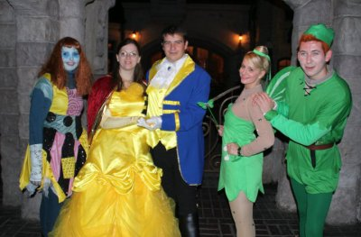 Disneyland 31 octobre 2010 - avec les Disney Friends