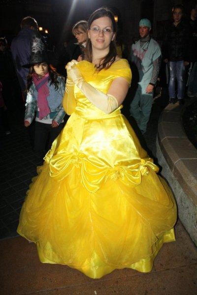 Disneyland 31 octobre 2010 - avec la cape