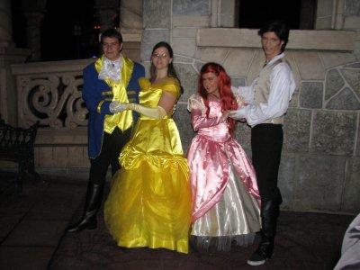 Disneyland 31 octobre 2010 - Avec Ariel et Eric