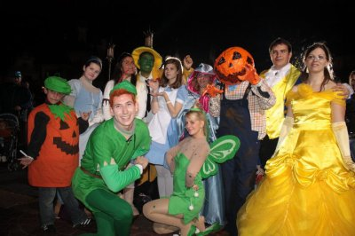 Disneyland 31 octobre 2010 - avec famille Alice