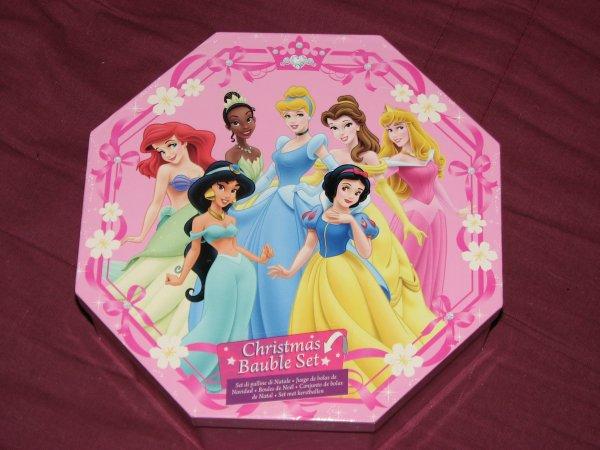 Disney Store - boules de Noël Princesses