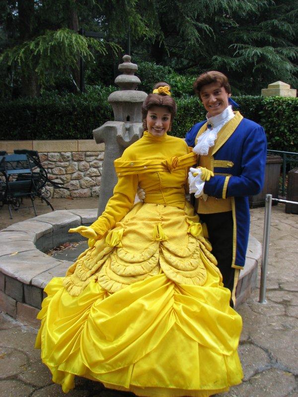 Disneyland 7 novembre 2010 - Belle et son Prince