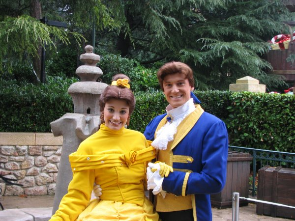 Disneyland 7 novembre 2010 - Belle et Adam