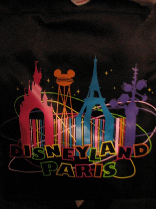 Disneyland 7 novembre 2010 - sac DLP