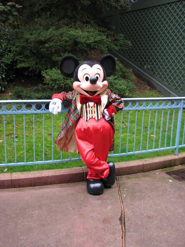 Disneyland 7 novembre 2010 - Mickey noel