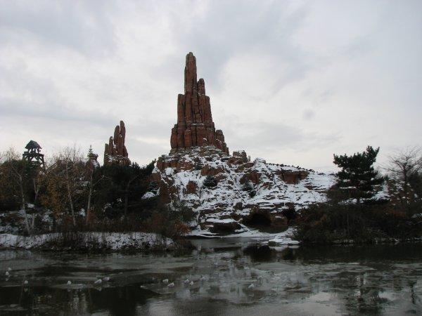 Disneyland 5 décembre - BTM sous la neige
