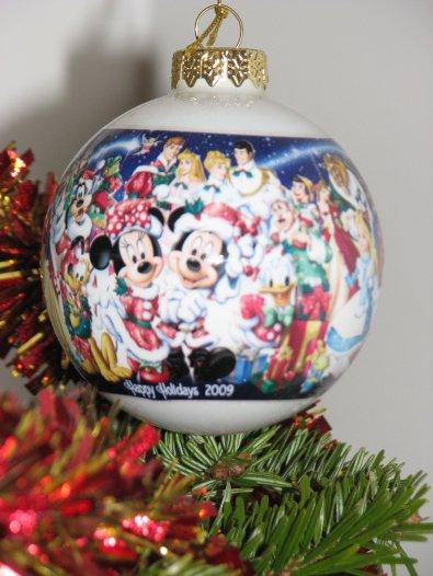 WDW - déco de Noël boule