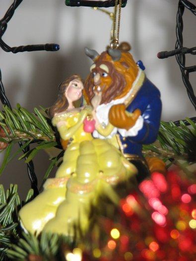 WDW - déco de Noël Belle et Bête