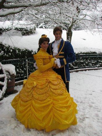 Disneyland 19 décembre 2010 - Belle et Adam