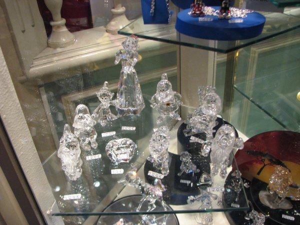 Disneyland 19 décembre 2010 - figurines Swarovski