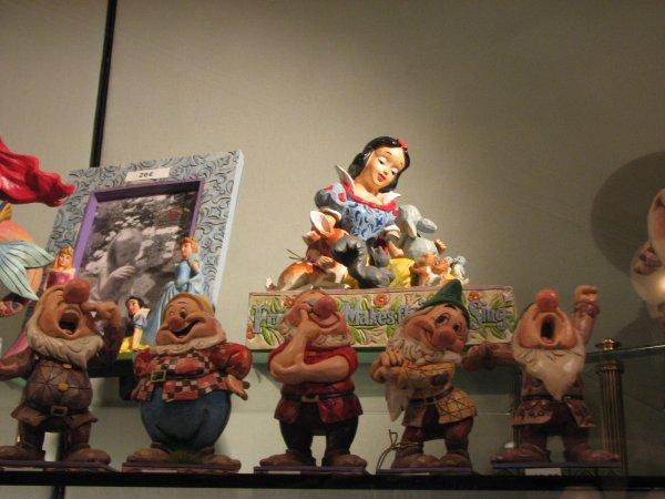 Disneyland 19 décembre 2010 - figurines Jim Shore Tradition