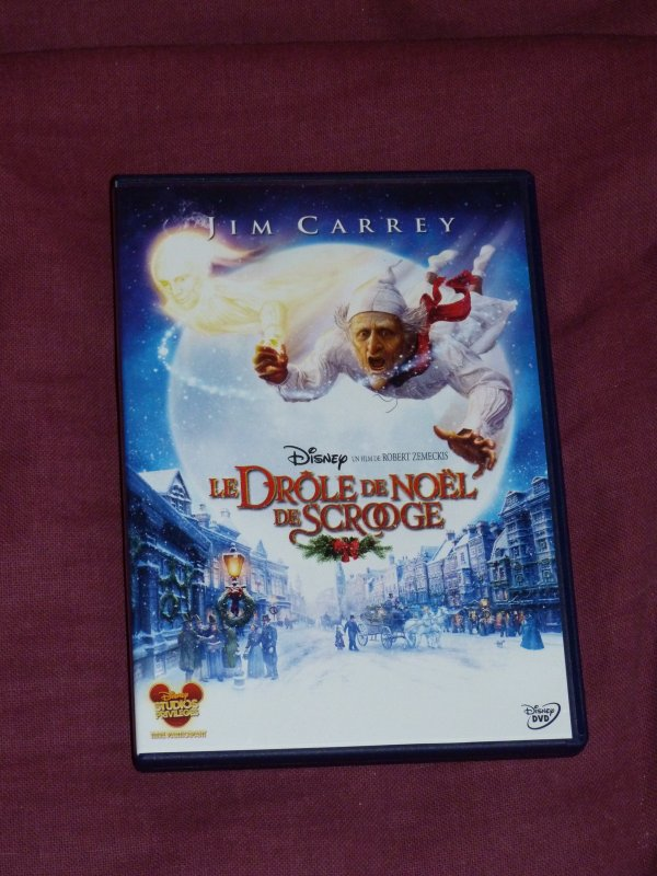 Cadeau de Noël parents - DVD Scrooge