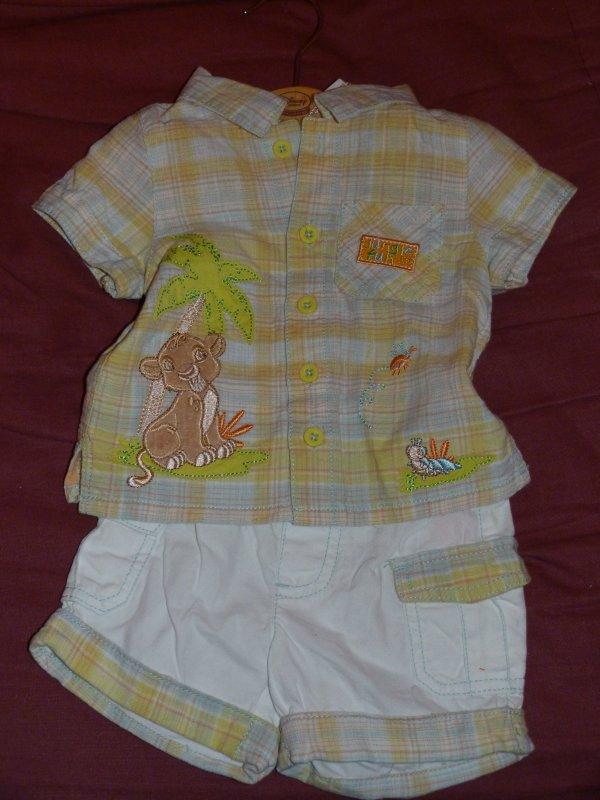 Disney Store - ensemble Simba