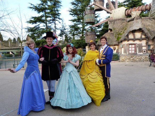 Disneyland 6 février 2011 - princes et princesses