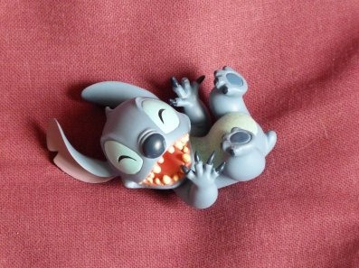 Figurines showcase - Stitch et Panpan